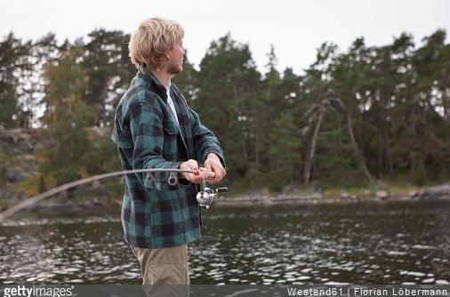 Les effets relaxants de la pêche