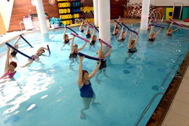 Cours d'aquaforme : allier sport et détente…