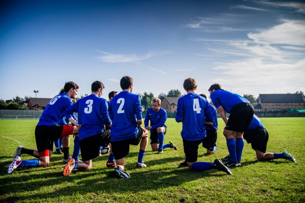 équipe masculine de sport collectif